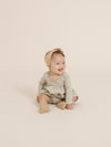 Longsleeve Baby Dress | sage - Quincy Mae | Baby Basics | Baby Clothing | Organic Baby Clothes | Modern Baby Boy Clothes |