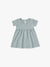 Short Sleeve Baby Dress | ocean