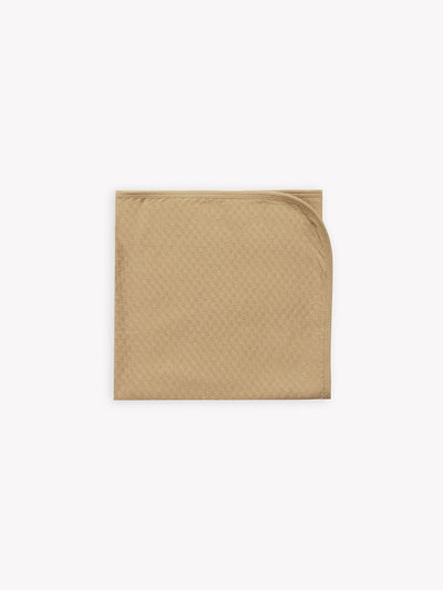 pointelle baby blanket | honey - Quincy Mae | Baby Basics | Baby Clothing | Organic Baby Clothes | Modern Baby Boy Clothes |
