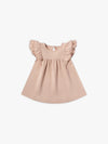 Flutter Dress | petal - Quincy Mae | Baby Basics | Baby Clothing | Organic Baby Clothes | Modern Baby Boy Clothes |
