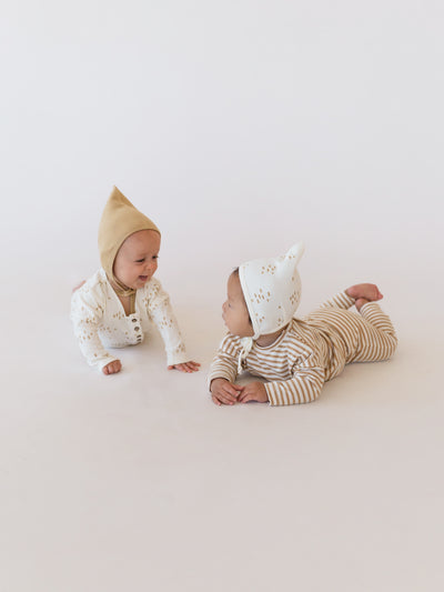 pixie bonnet | ivory tree - Quincy Mae | Baby Basics | Baby Clothing | Organic Baby Clothes | Modern Baby Boy Clothes |