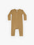 Ribbed Baby Jumpsuit | ochre