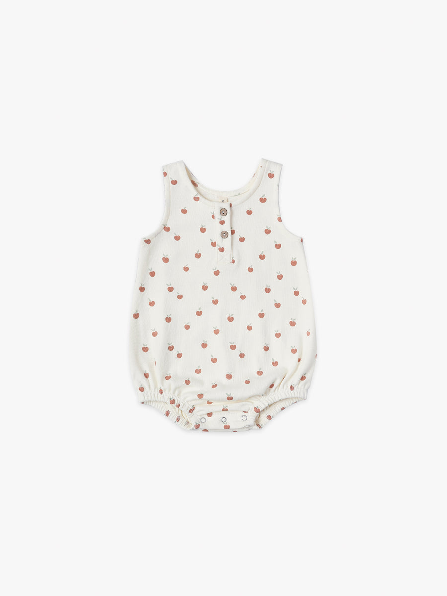 Sleeveless Bubble | ivory/peach