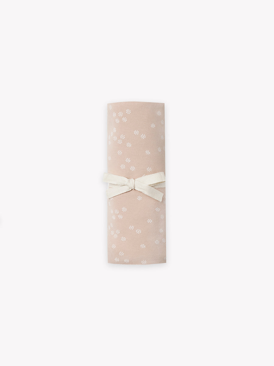 baby swaddle | rose flora print