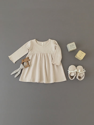 Baby Dress | Rose - Quincy Mae | Baby Basics | Baby Clothing | Organic Baby Clothes | Modern Baby Boy Clothes |