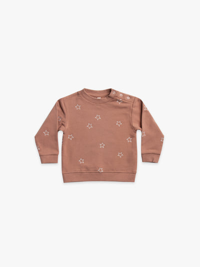 fleece sweatshirt | clay