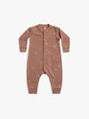 fleece jumpsuit | clay