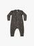 fleece jumpsuit | coal