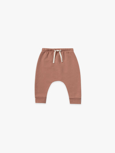 fleece sweatpant | clay