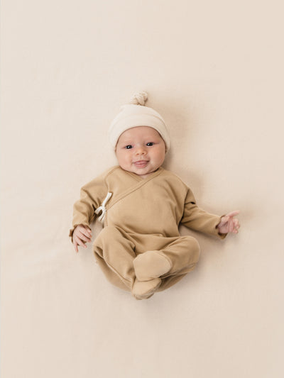 Knotted Baby Hat | Rose