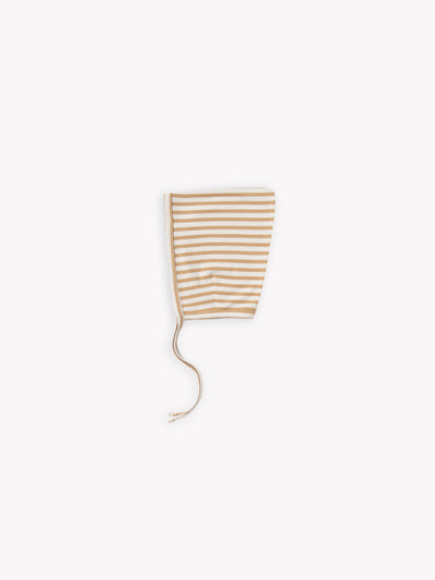 pixie bonnet | honey stripe
