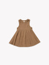 Ribbed Tank Dress | Copper - Quincy Mae | Baby Basics | Baby Clothing | Organic Baby Clothes | Modern Baby Boy Clothes |