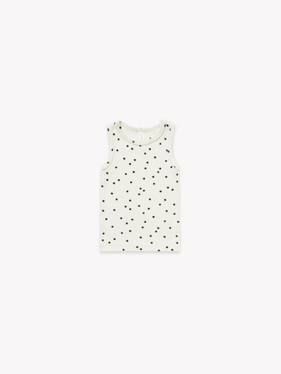 Ribbed Baby Tank | Pebble