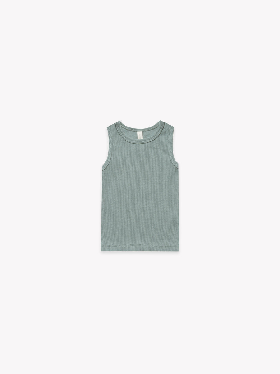 Ribbed Baby Tank | Sea