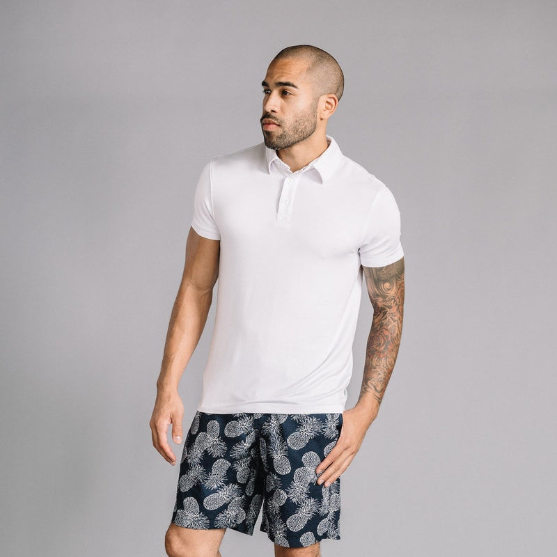 Nicklaus Modal Polo in White