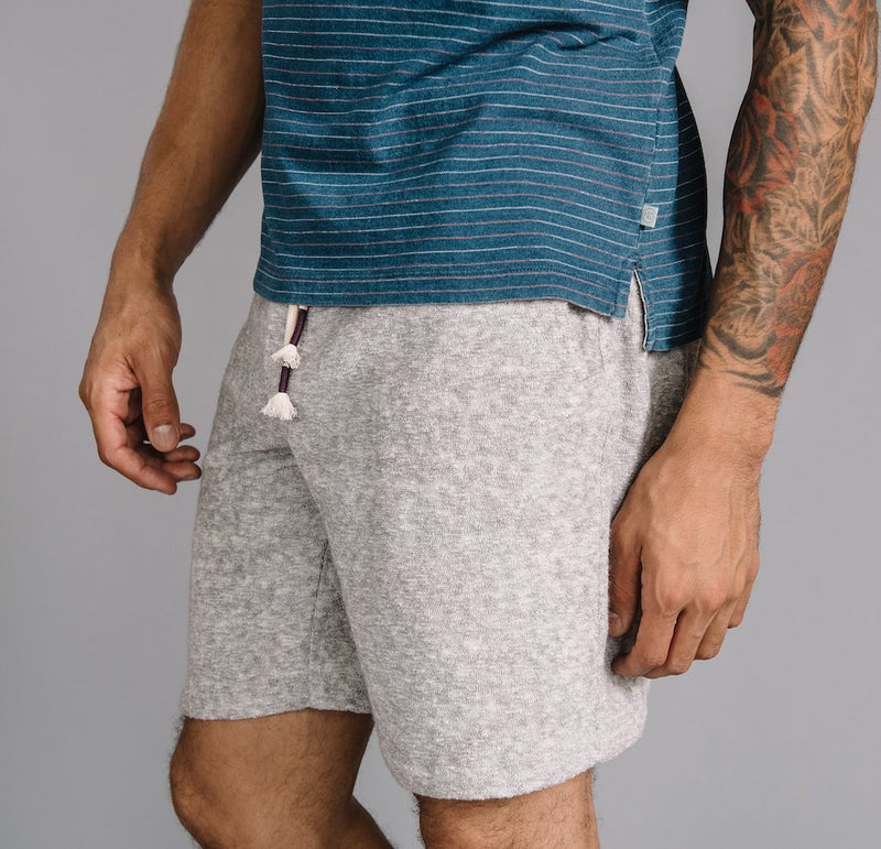 Steve Pull On Short in Stretch Terry