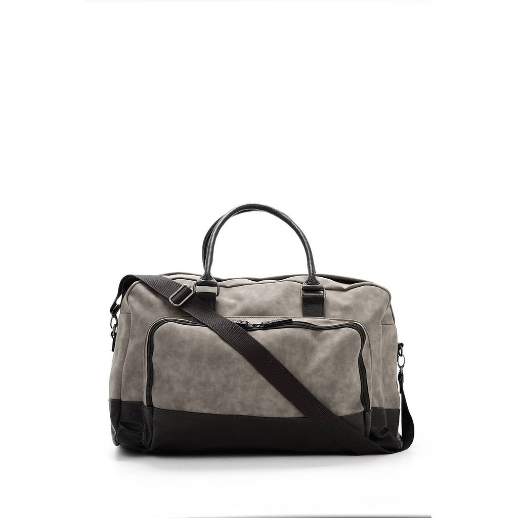 Marcel Two Tone Duffle Bag (Black)