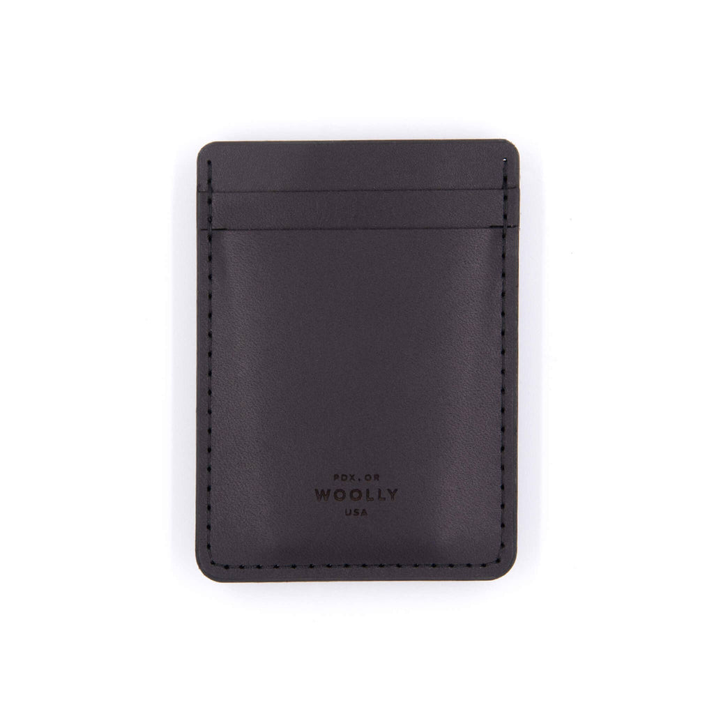 Money Clip Wallet: Black