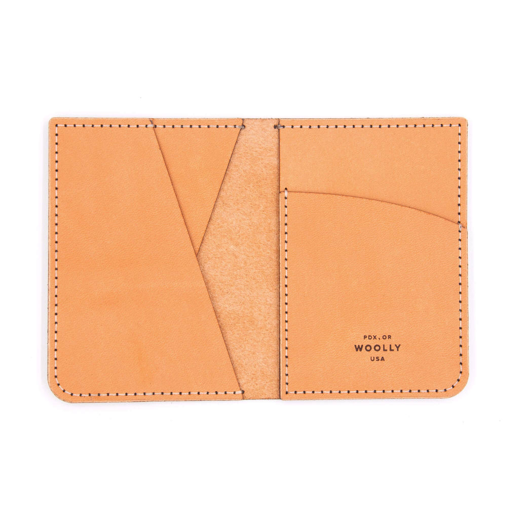 Portrait Wallet: Tan