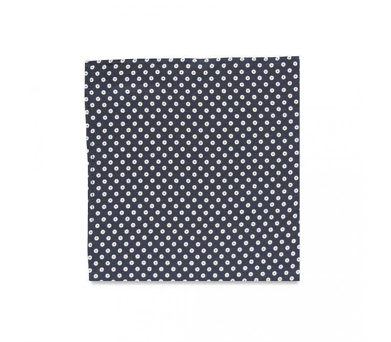 The Delmont Polka Dot Pocket Square