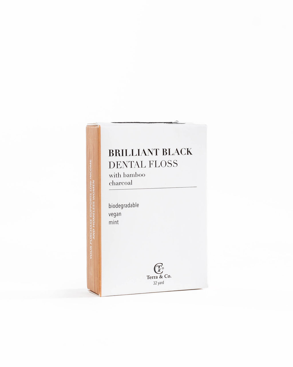 Brilliant Black Dental Floss