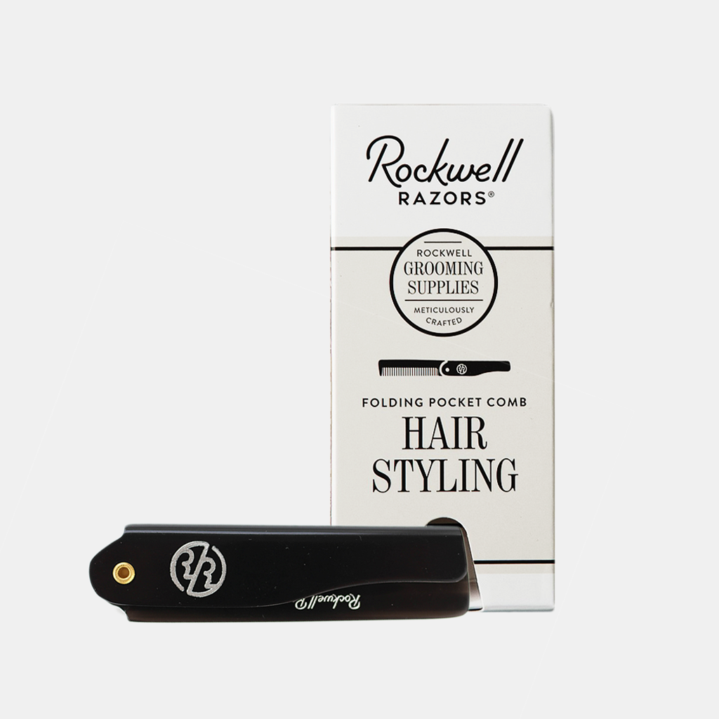 Rockwell Folding Hair Comb