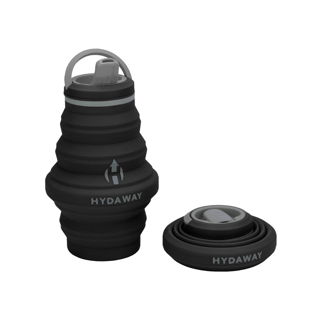 17oz Collapsible Water Bottle - Midnight