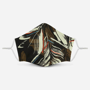Unity Mask 2.0 w/ Filter Pocket (Brown Abstract)
