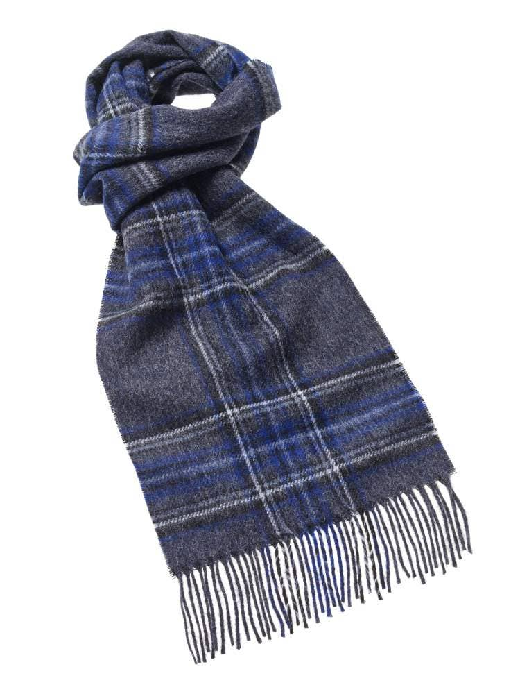 Ingleborough Charcoal Scarf