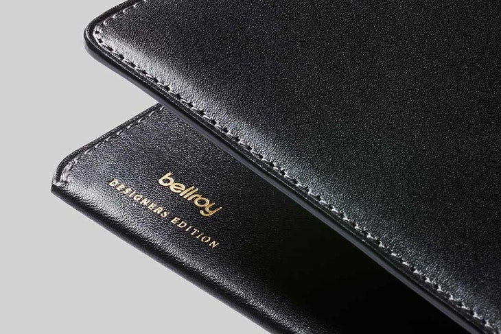 Travel Wallet Black Designers Edition