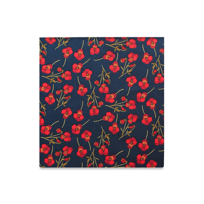 The Nathalie Floral Pocket Square