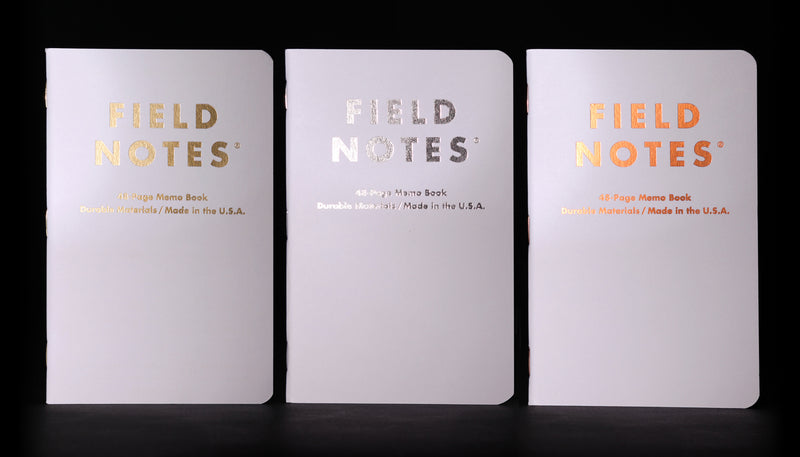 GROUP ELEVEN SET OF THREE NOTEBOOKS