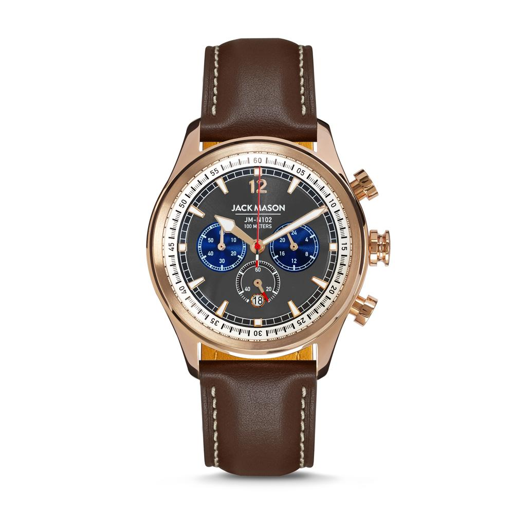 HALYARD NAUTICAL CHRONOGRAPH ROSE GOLD CASE