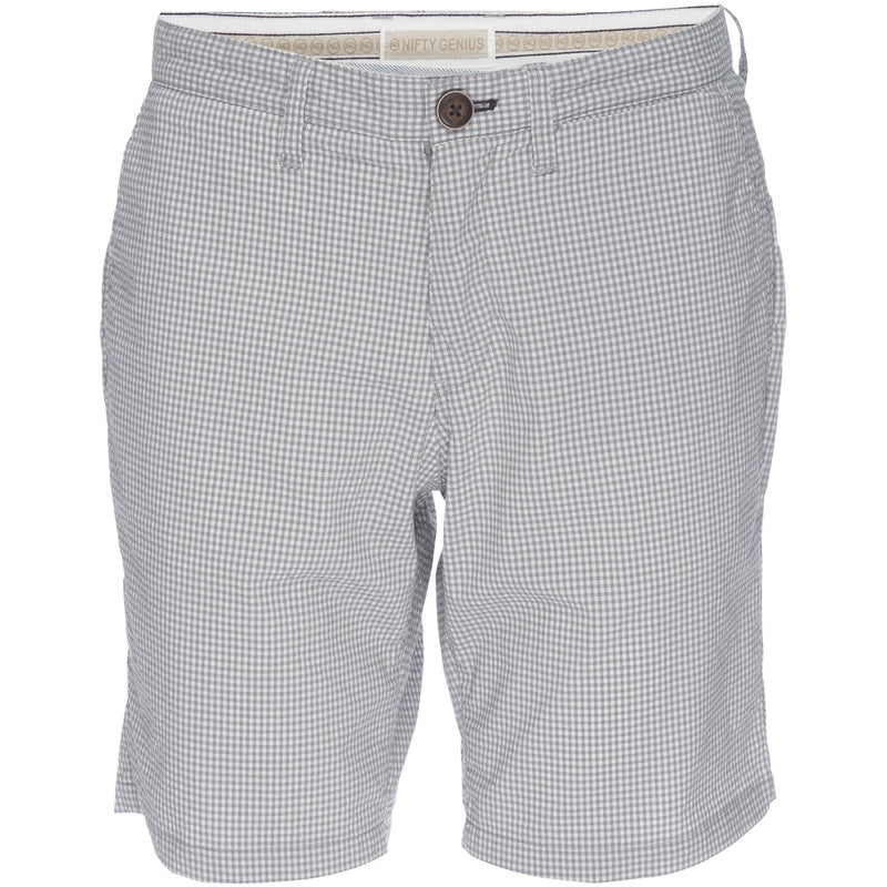 Morgan Bermuda Short in Stretch Gingham Seersucker
