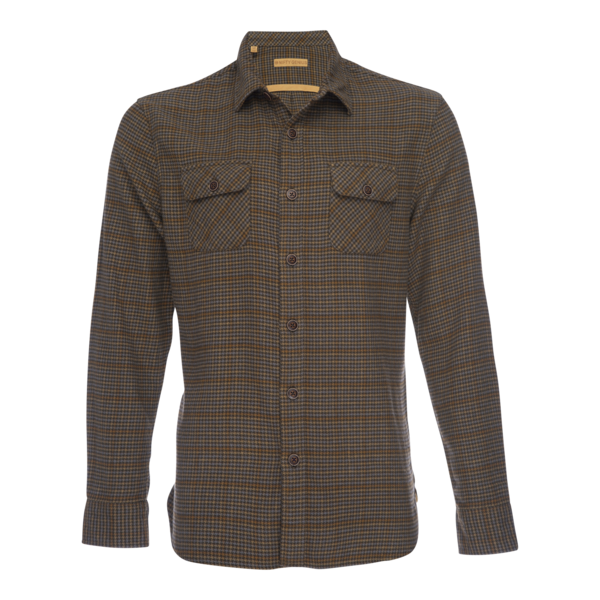 Truman Outdoor Shirt in Houndstooth