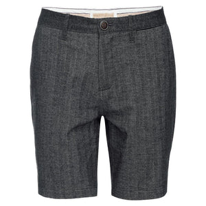 Morgan Short In Stretch Herringbone