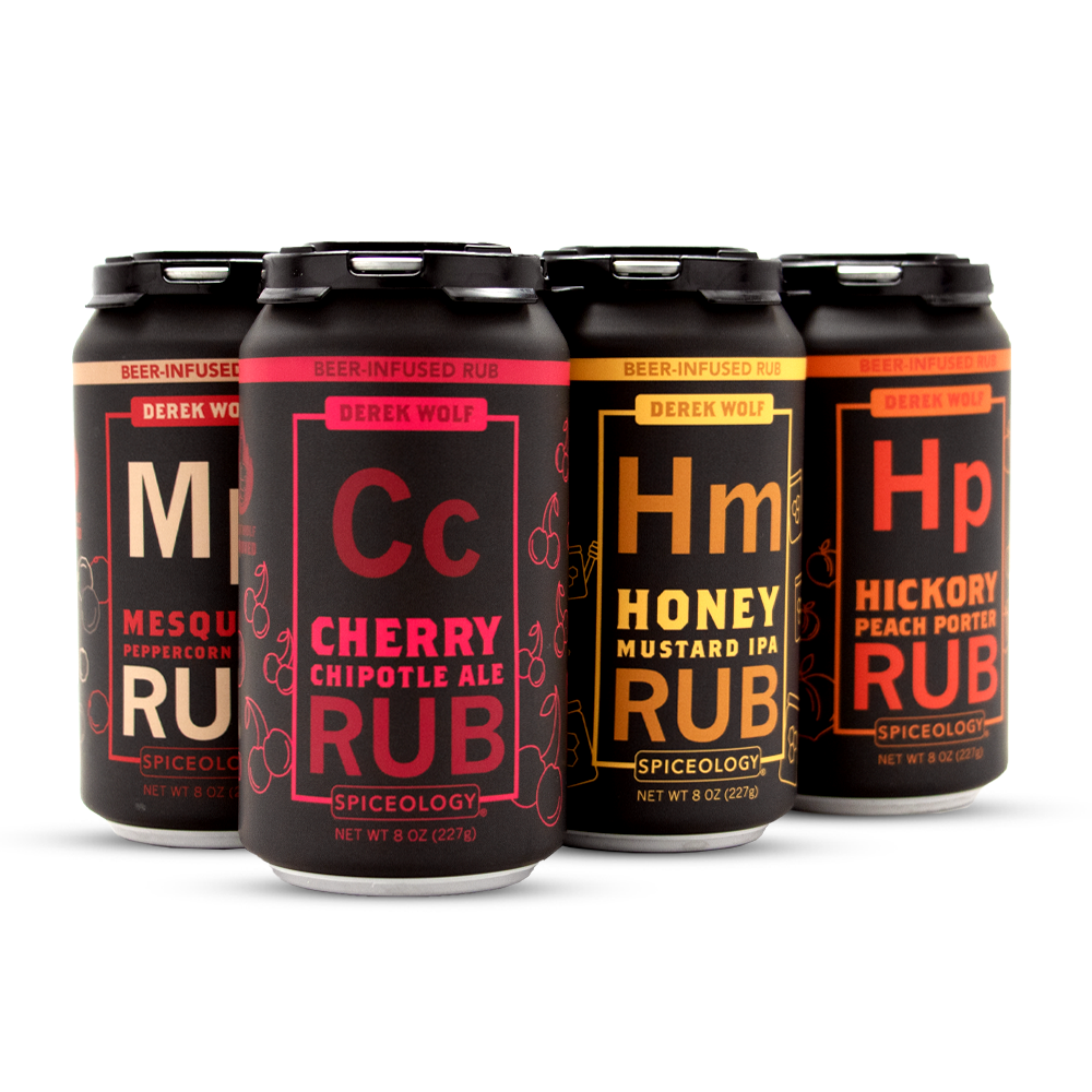 6 Pack Beer Rub Sampler