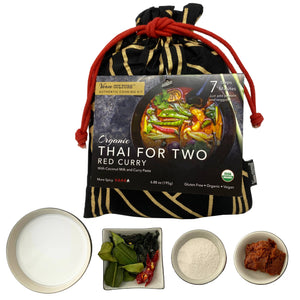 Thai for Two Cooking Kit - Organic Red Curry