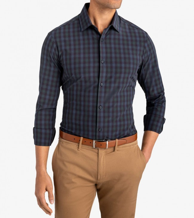 Leeward Dress Shirt-Trim Fit