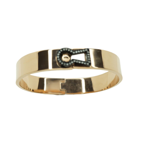 CZ Key Lock Bangle