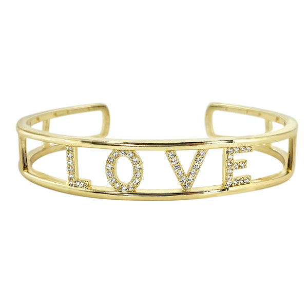 CZ LOVE Bangle