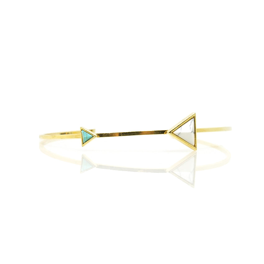 Double Triangle Cuff