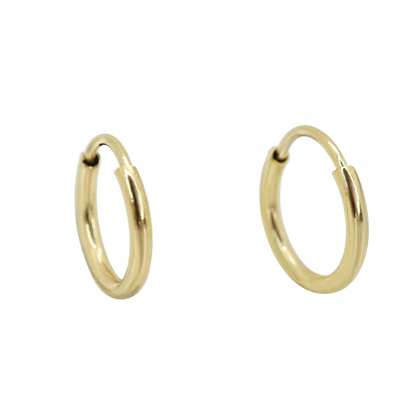 Delicate Classic Hoops