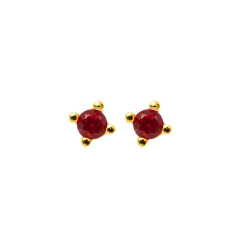 Ruby Stud Dots