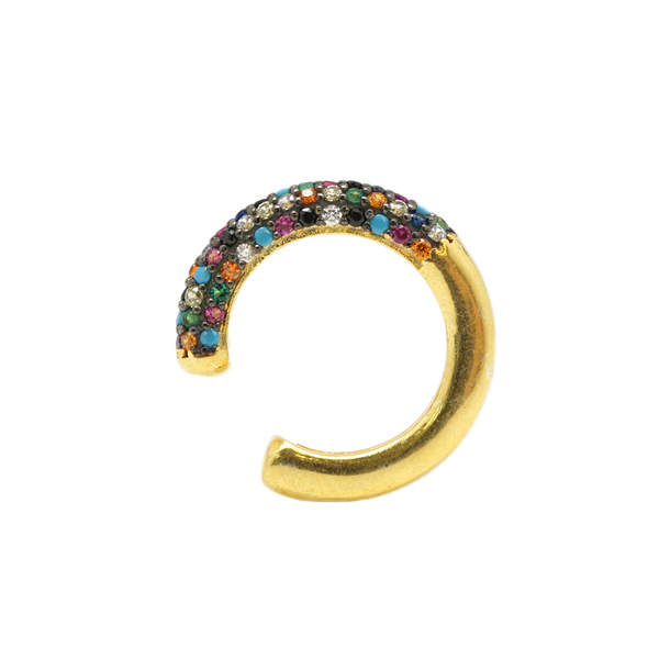 Multicolor Ear Cuff