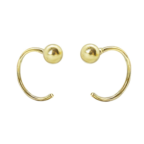 Ball Piercing Earrings