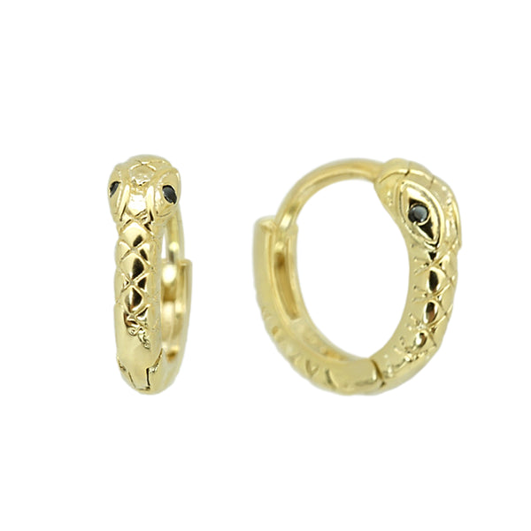 Snake Small Hoops