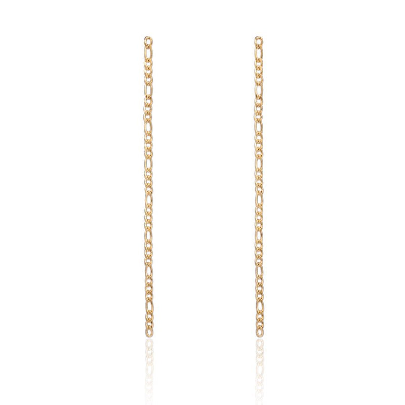 Thin link chain Earrings