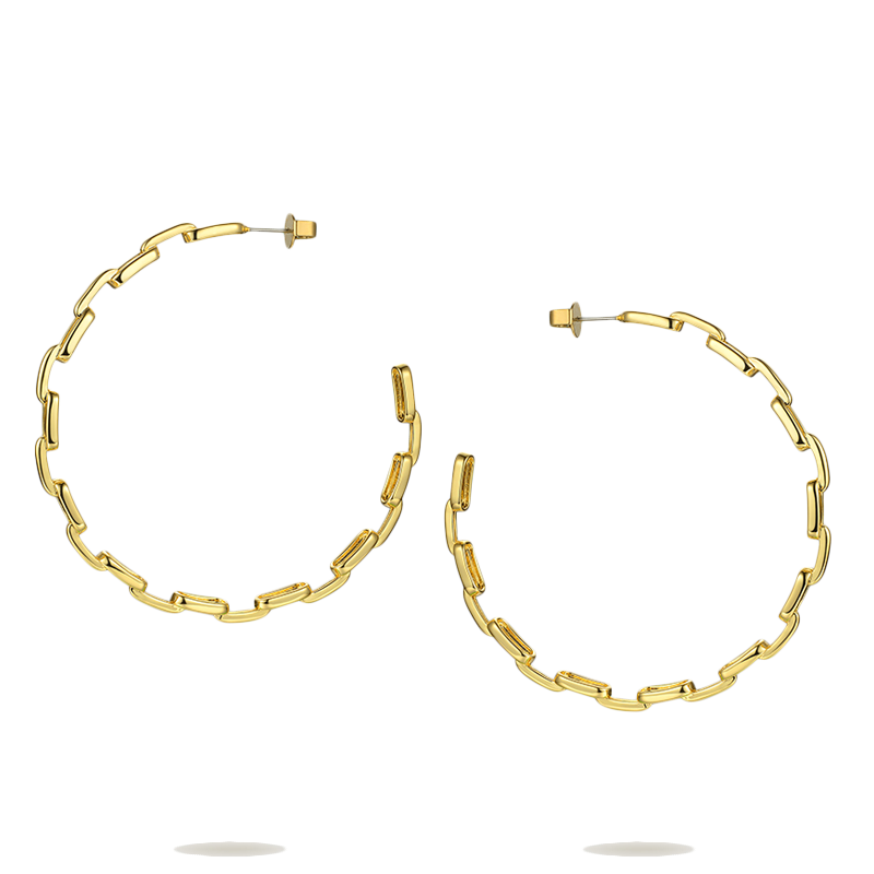 Link Chain Hoops