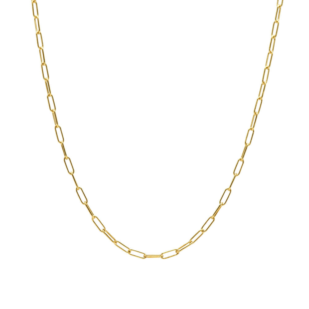 Delicate Oval Link Necklace